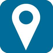 icone bleu localisation