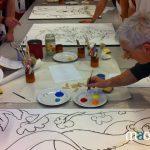 motivation et cohésion par la peinture