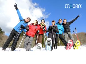 Balade en raquettes à neige dans les Vosges