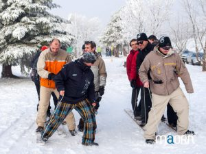 Olympiade et activité d'hiver dans les Vosges