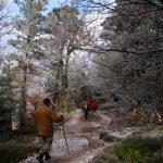 Balade vers le Sainte Odile en hiver