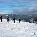 promenade en raquettes dans les Vosges