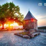 Couché de soleil au Mont Sainte Odile