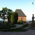Chapelle et terrasse au Sainte Odile