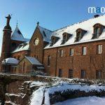 L'abbaye sous la neige