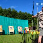 Séance de tir à l'arc dans les Vosges
